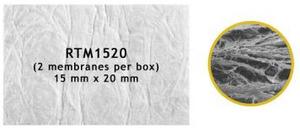 RTM Collagen 15х20мм - резорбируемая мембрана